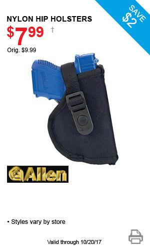 Allen Nylon Hip Holsters - $7.99