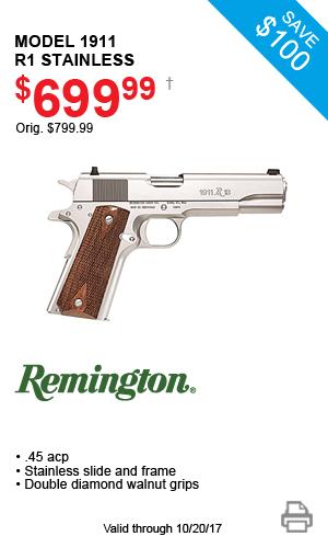 Remington Model 1911 R1 Stainless - $699.99