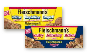 Fleischmann's RapidRise and ActiveDry Yeast