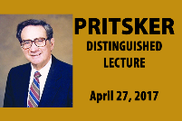 Revised Pritsker Lecture flyer