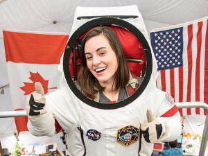 Jocelyn Dunn participated in NASA's simulated Mars mission