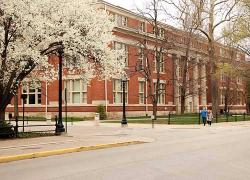 Grissom Hall in springtime