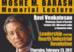 Graphic of Barash Lecture