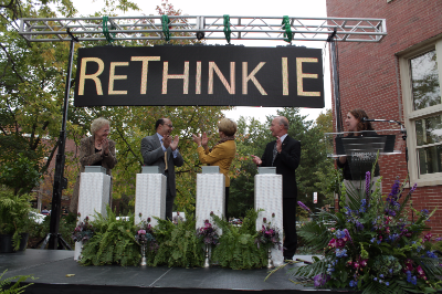 """ReThink IE"" at the Grissom Hall Celebration"