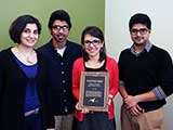 Roshanak Nateghi receives 1st ever Outstanding Graduate Mentor award