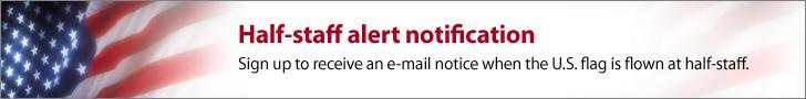 Half-staff alert