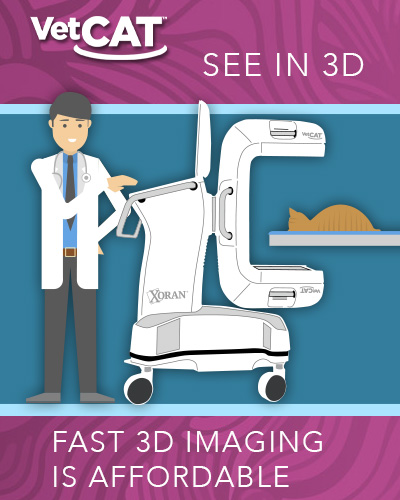 Purchase VetCAT—first 6-months at $25/mo. means fast 3D imaging is affordable and cost-effective.