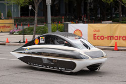 Resized solar car