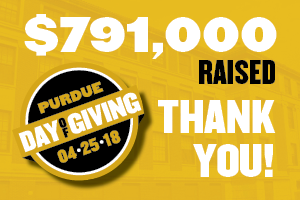 $791,000 raised on Purdue Day of Giving
