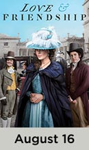 Love & Friendship movie available August 16th