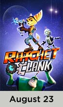 Ratchet and Clank movie available August 23rd