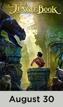 The Jungle Book movie available August 30th