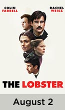 The Lobster movie available August 2nd