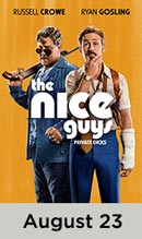 The Nice Guys movie available August 23rd