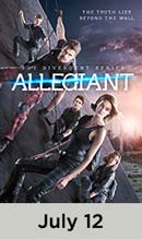 Divergent Series: The Allegiant movie available July 142th