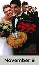 American Wedding November 9th
