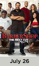 Barbershop movie available July 26th