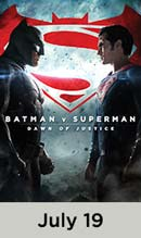 Batman vs Superman movie available July 19th