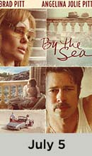 By The Sea movie available July 5th