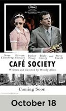 Cafe Society October 18th