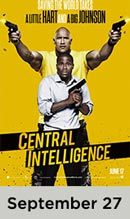 Central Intelligence movie available September 27th