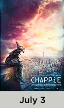 Chappie movie available July 3rd