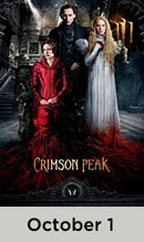 Crimson Peak October 1st