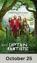 Captain Fantastic October 25th