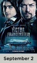 Victor Frankenstein movie available September 2nd