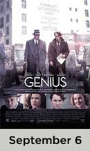 Genius movie available September 6th