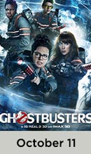 Ghostbusters October 11th