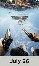 Hardcore Henry movie available July 26th