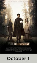 The Illusionist October 1st