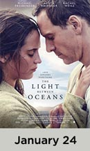 The Light Between Oceans January 24th