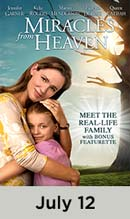 Miracles from Heaven movie available July 12th