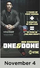One & Done November 4th