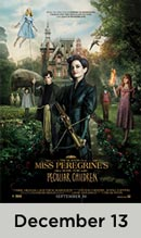 Miss Peregrines Home For Peculiar Children December 13th