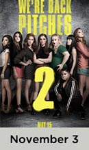 Pitch Perfect 2 November 3rd