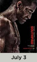 Southpaw movie available July 3rd