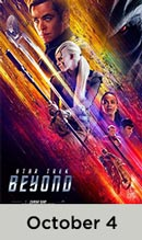 Star Trek Beyond October 4th