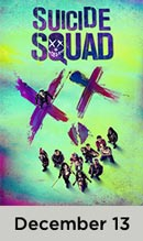 Suicide Squad December 13th