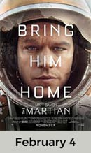 The Martian February 4th