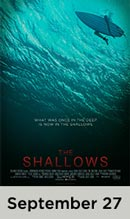 The Shallows movie available September 27th