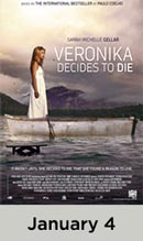 Veronika Decides to Die  January 4th