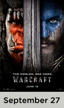Warcraft movie available September 27th