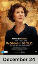 Woman in Gold December 24th