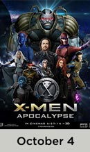 X-Men Apocalypse October 4th