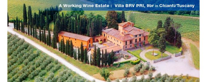 Villa BRV PRI, Tuscany