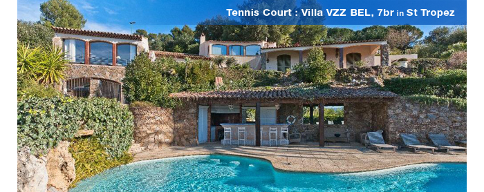 Villa VZZ BEL, St Tropez