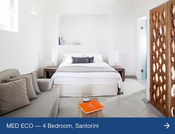 Villa MED ECO, Santorini